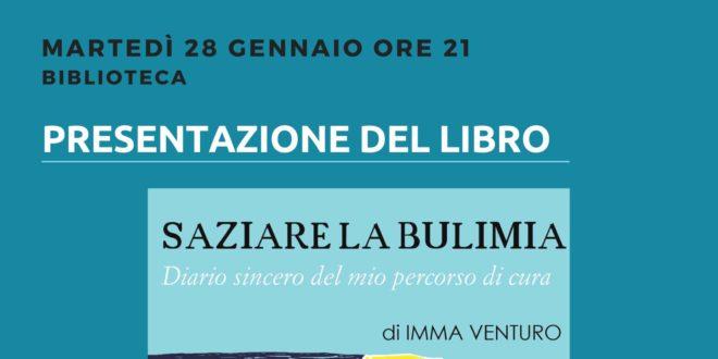 """Presentazione del libro """"Saziare la bulimia"""""""
